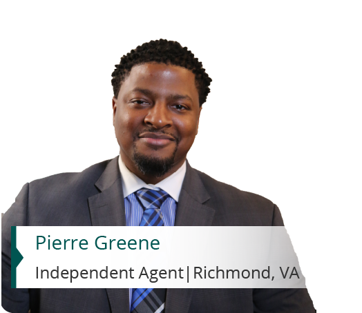 Pierre Green, Independent Agent