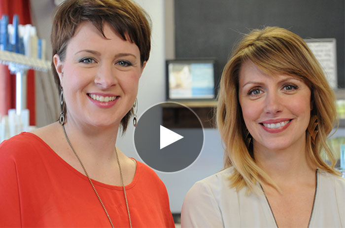 Darcy Taylor and Jennifer Stinchcomb, Owners of Salon Enso