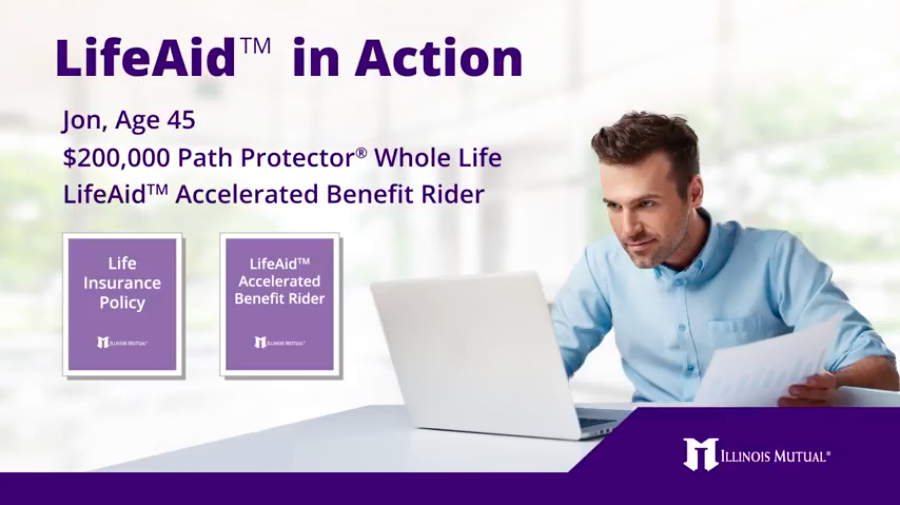 LifeAid In Action video