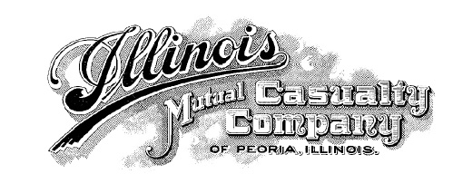 The logo for Illinois Mutual Casualty Company, renamed from Illinois Woodmen Accident  Association.