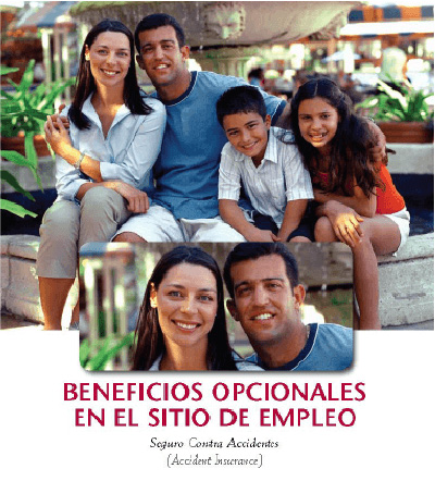 Spanish language brochure for Illinois Mutual Worksite products.