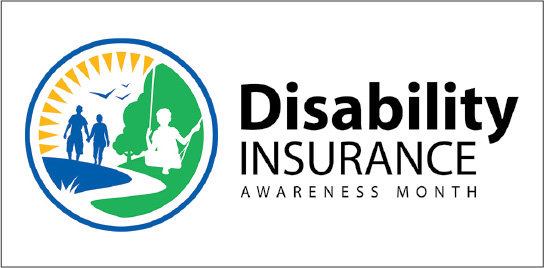 Logo for Disability Insurance Awareness Month (DIAM).