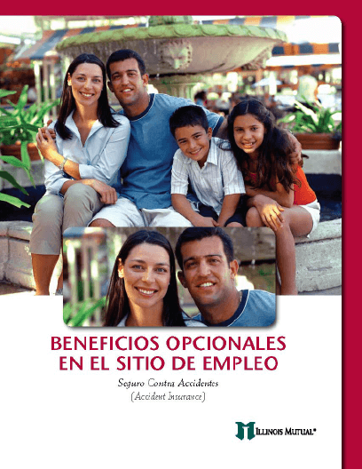 Illinois Mutual Worksite product Spanish brochure