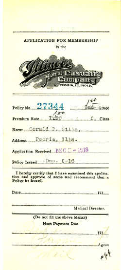 Illinois Mutual Casualty Company Application