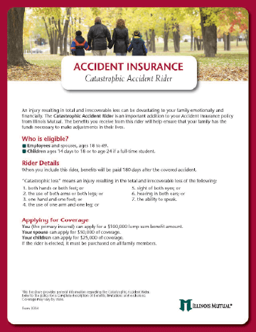 Illinois Mutual Worksite Accident Insurance product